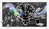 Skills for Right and Left Brain — Stock Photo