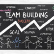 Growth with Team Building — Stock Photo #36760755