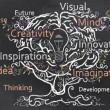 Stock Photo: Creativity Grows with Brain