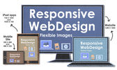 Scalable with Responsive Web Design — Stock Photo
