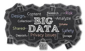 Big Data with Isolated — Stock Photo
