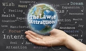 Law of Attraction — Zdjęcie stockowe