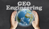 Caring for the Earth with Geo Engineering  — Stock Photo