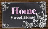 Home Sweet Home with Clipping Path — Foto de Stock