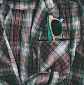 Wooden glasses in pocket — Foto Stock