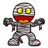Mummy cartoon — Stock Vector