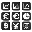 Hand draw icon set.Illustration — Stock Vector