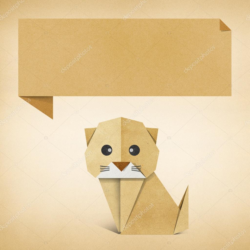 Ютуб как сделать кота из бумаги