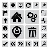 Internet icons set — Stock Vector