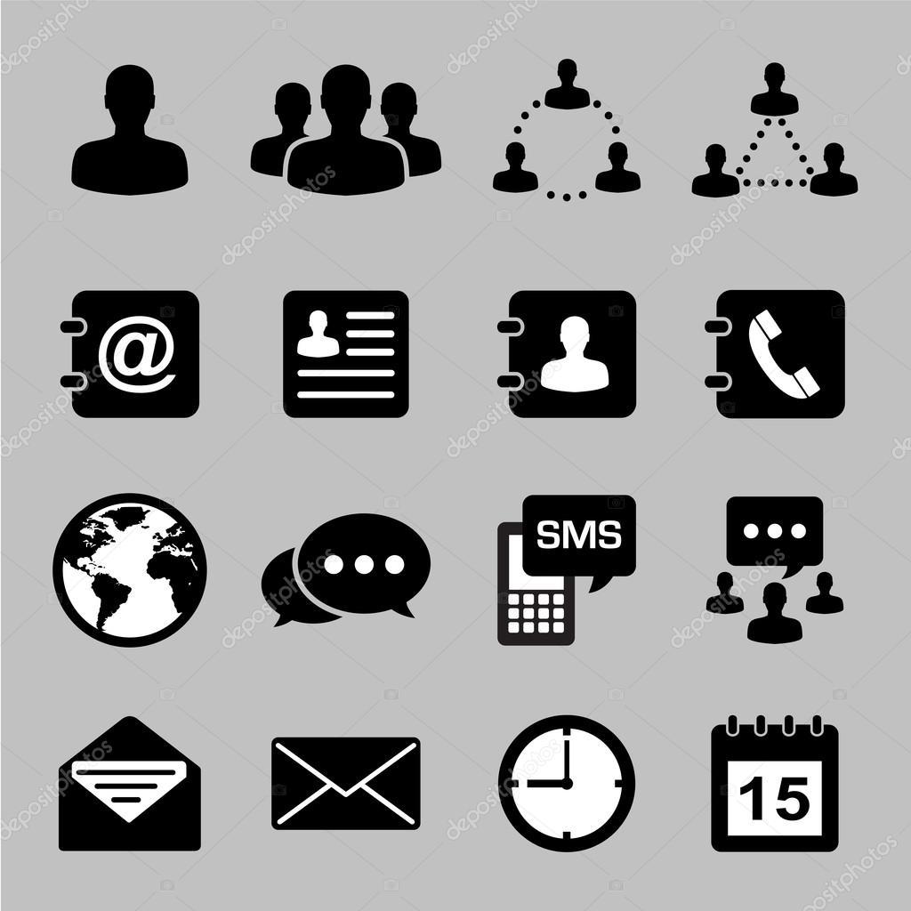 商务图标集 — 图库矢量图片