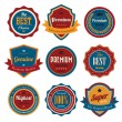 Royalty-Free Stock Vector Image: Set of  retro vintage badges and labels.