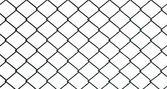 Iron wire fence — Stock Photo