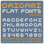 Retro type font, vintage typography . — ストックベクタ