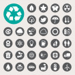 Eco energy icons set. — Stock Photo #31096487