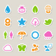 Eco icons set. — Stock Photo #31096563