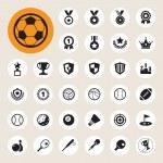 Sports Icons set. — Stock Photo #31096729
