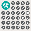 Construction Icons set — Stock Vector #37572453
