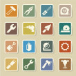 Stock Vector: Construction Icons set