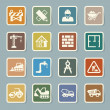 Construction Icons set — Stock Vector #37572533