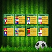 Brazil cup 2014, Soccer Tournament. — Stock Photo