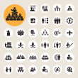 Business and Management Icons set — Stock Vector #42771877