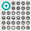 Map and Location Icons set  — Stock Vector #42771983