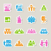 Business and Management Icons set — Stock Vector