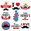 Happy Fathers Day — Stock Vector #46931989