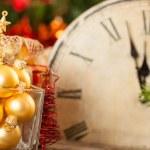 Golden Christmas balls — Stock Photo #11888867