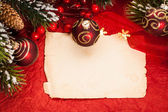 Christmas still life — Foto Stock