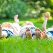 Family having picnic — Stock Photo #21384585