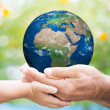 Royalty-Free Stock Photo: Earth day
