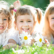 Children having picnic — Stock Photo #21384645