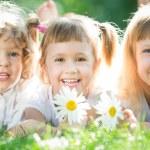 Дети пикник — Стоковое фото
