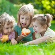 Children having picnic — Stock Photo #21385187