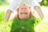Child having fun — Stock Photo