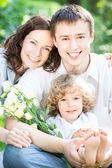 Happy family — Zdjęcie stockowe