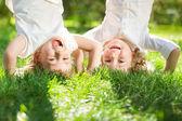 Crianças se divertindo — Foto Stock