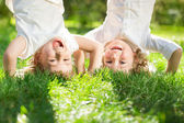 Niños se divierten — Foto de Stock