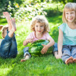 Children having picnic — Stock Photo #22231231