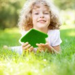 Royalty-Free Stock Photo: Child holding eco house