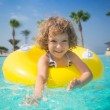 Child in swimming pool — Stock Photo #25537389
