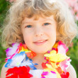 Happy child showing thumb up — Stock Photo #25537467