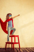 Superhero kid — Stock Photo