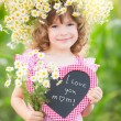 Child in spring — Stock Photo #39921987