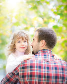 Father and kid — Stock Photo