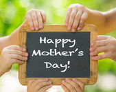 Mother's day greeting — Stock Photo