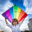 Fly a kite — Stock Photo