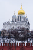 Archangel cathedral of Moscow Kremlin — Stock Photo