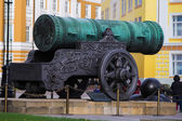 Czar-Cannon In Moscow Kremlin — Stock Photo